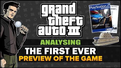 GTA 3 - Analysing the First Ever Preview - Feat. SpooferJahk Commentaries Beta Analysis