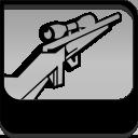 Rifle de francotirador HUD LCS