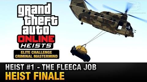 GTA Online Heist 1 - The Fleeca Job - Heist Finale (Elite Challenge & Criminal Mastermind)
