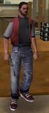 Dependiente de Ammu-Nation en GTA VC