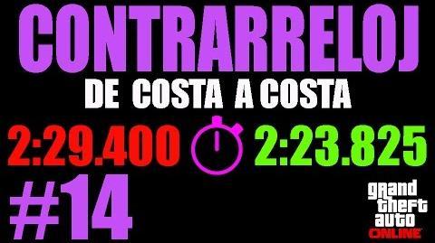CONTRARRELOJ - DE COSTA A COSTA (GTA ONLINE) PS4