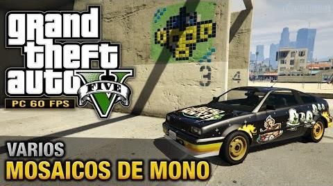 GTA 5 PC - Mosaicos de Mono Chango (Go Go Monkey Blista - PC, PS4 y Xbox One)
