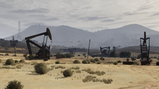 Grand Senora Desert Campo Petrolífero