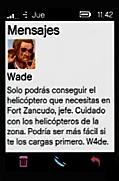 Mensaje de Wade GTA V