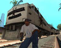 CJ y el Brown Streak GTA SA