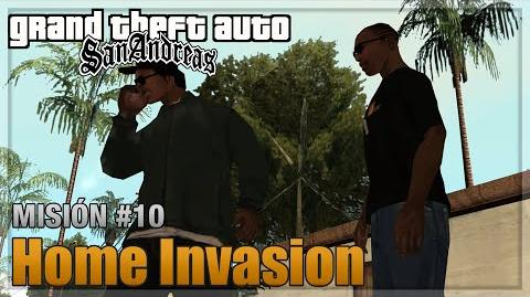 GTA San Andreas - Misión 10 - Home Invasion (Español - 1080p 60fps)