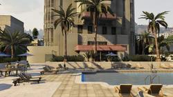 Pegasus Concierge Hotel terraza