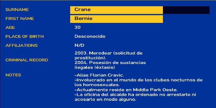 Bernie crane