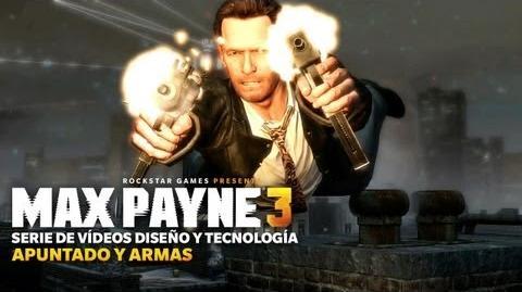 El sistema de apuntado y las armas de Max Payne 3 se muestran en profundidad
