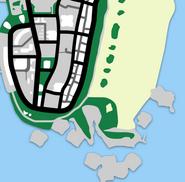 Ocean Beach map