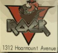 V Rock Hoarmount Avenue