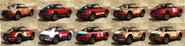 Comet Safari GTAO Pinturas atrás