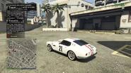 GT500 Herbie atrás