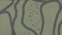 Mapa de supervivencia procesado