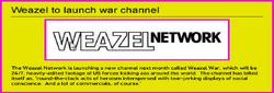 Weazel War
