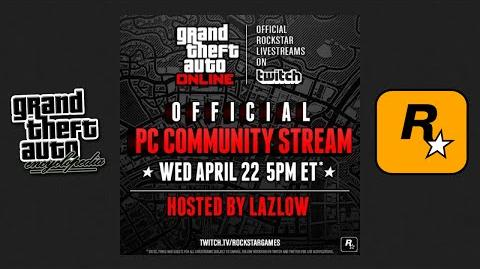 Grand Theft Auto Online - Rockstar's PC Community Stream Compilation (22 04 15)