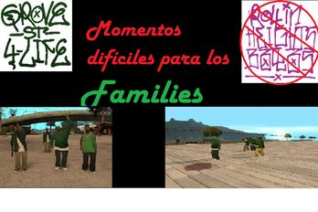Momentos dificiles para los Families