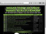 Whattheydonotwantyoutoknow.com