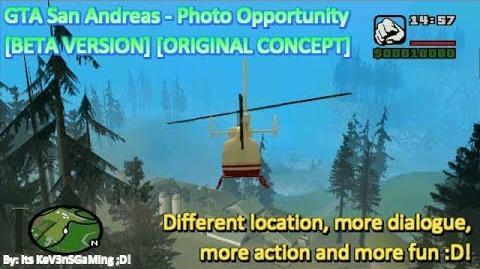 GTA San Andreas - Photo Opportunity BETA VERSION