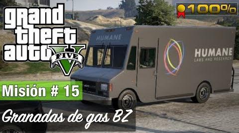"""Grand Theft Auto V - """"Granadas de gas BZ"""""""