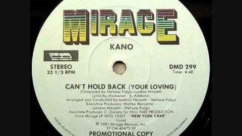 Kano - Can't Hold Back Your Lovin'