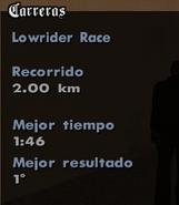 LowRiderRaceDatos