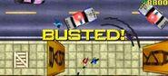 Busted en GTA 1