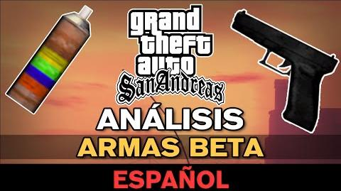 GTA San Andreas - Armas Beta Análisis