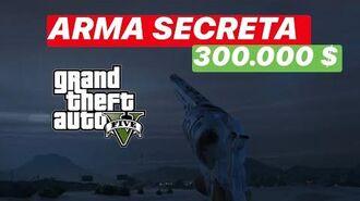 300.000 $ y REVÓLVER NAVY Arma Secreta GTA 5 Online GTA V Online
