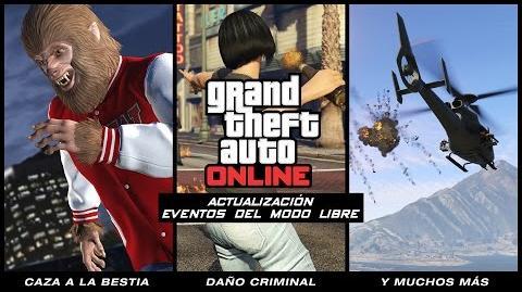 Actualización Eventos del Modo Libre de Grand Theft Auto Online