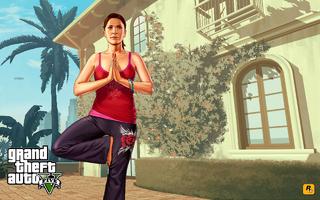 Artwork promocional de Amanda GTA V