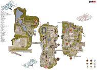 Mapa Liberty City (III) 3D