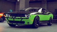 Dodge Challenger Rápido y Furioso 7