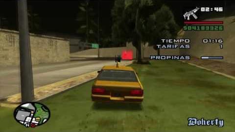 Gta San Andreas Trofeo Sí, hablo tu idioma (taxista)