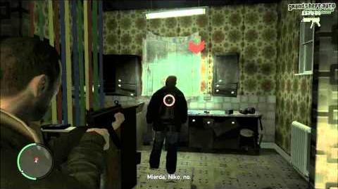 GTA IV Mission The Holland Play (Choosing Dwayne)