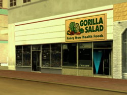 GorillaSalad Downtown