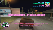 Mision fallida boomshine