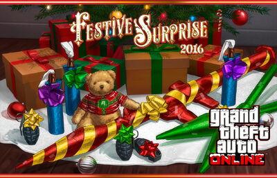 GTA Online - Sorpresa festiva 2016
