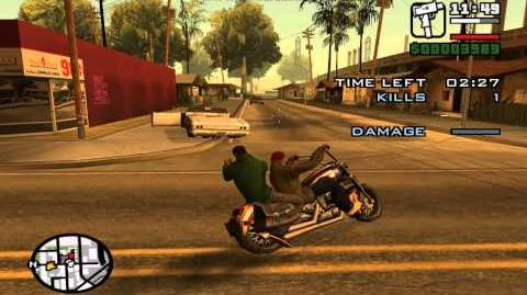 GTA San Andreas. Beta missions 1 - Awol Angel