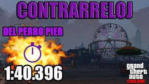 CONTRARRELOJ - DEL PERRO PIER - (GTA V ONLINE) PS4