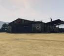 Hangar del aeródromo de McKenzie