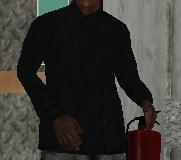 Cazadora negra