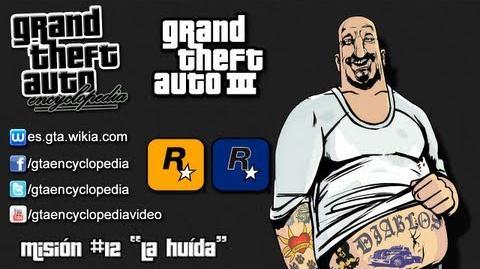 """Grand Theft Auto III - Misión 12 """"La huída"""""""