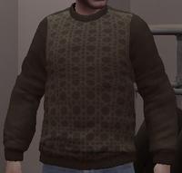 Jersey lana marrón GTA IV