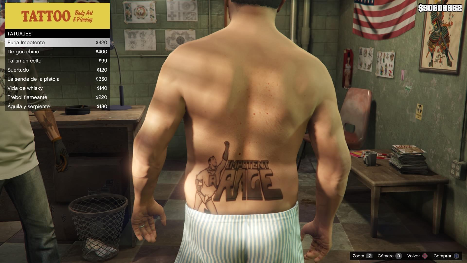 Tattoo Body Art Piercing Grand Theft Encyclopedia Fandom