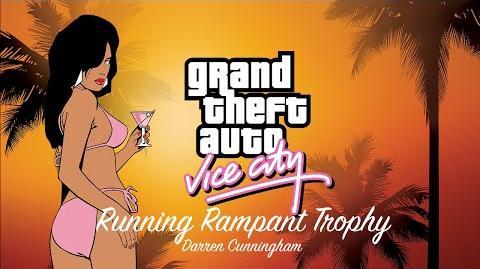 GTA Vice City Running Rampant Trophy