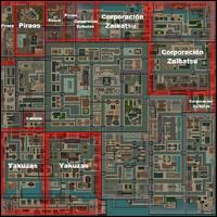 Mapa Gang Central GTA 2