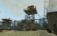 Penitenciaría Alderney Torre de Vigilancia común