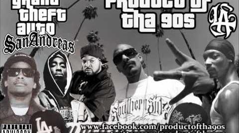 West Coast GTA San Andreas G-Funk Remix ft Mr. Criminal,2 Pac, Eazy-E, Ice Cube, & Snoop Dogg