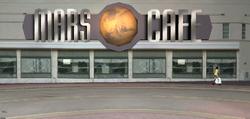 El frente de Mars Cafe